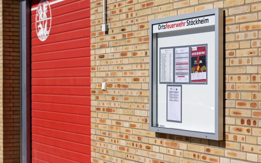 Schaukästen für die Ortsfeuerwehr Stöckheim